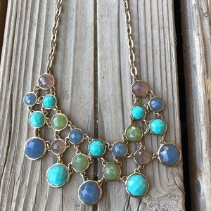 Gorgeous! Crown Trifari Crystal & Bead Necklace!